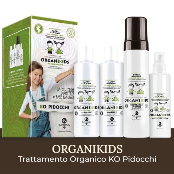 kit organikids di tecna prodotti contro i pidocchi