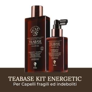 Kit Energetic Teabase di Tecna per capelli fini e capelli indeboliti