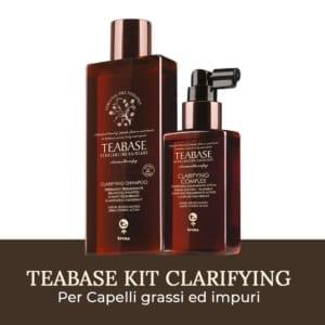 Kit Clarifying Teabase di Tecna per capelli grassi