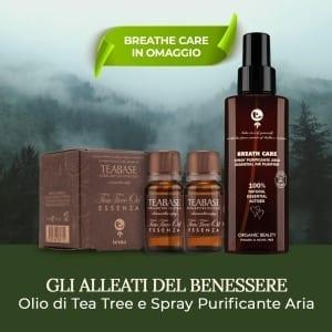 Olio Essenziale di Tea Tree Oil Tecna e Spray Ambiente in Omaggio